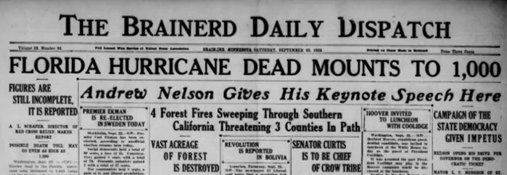 Florida Hurricane 1928