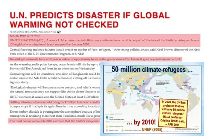 50 miljoner klimatflyktingar