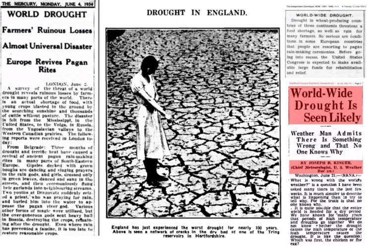 Världsomfattande torka