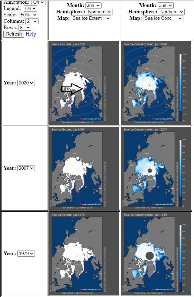 Svalbard, isutbredning 2