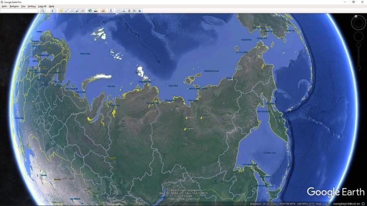 Tre stationer i Sibirien 3